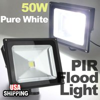 best security lighting - Best Promotion W White Security Flood PIR Motion Sensor Led Wall Light IP65 Waterproof