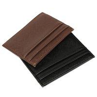 beautiful business cards design - Hot sales beautiful design Men Casual Leather Slim Credit Card Case Organizer ID Cash Holder Wallet