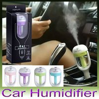 oil warmer - Nanum Car Plug Air Humidifier Purifier Vehicular essential oil ultrasonic humidifier Aroma mist car fragrance Diffuser DHL free