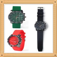 Wholesale Aberdeen New wind Harajuku street style fashion big dial student sports men and women couple watch silicone