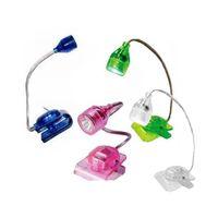 Wholesale LUFY Mini LED Clip on Adjustable Book Reading Light Bright