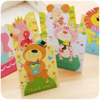 Wholesale South Korea creative lovely spring festival Mini greeting card greeting card new year birthday card