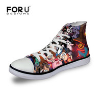 adult school shoes - fashion cartoon gravity falls canvas shoes for adult cartoon design spider man violetta girl school leisure shoes eur