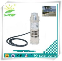 Wholesale 10M head m3 h v water pump DC solar submersible pump prices solar powered irrigation water pump
