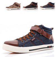 Wholesale New Spring Winter Sneakers For Men Casual Canvas Shoes Fashion High Top Men Sneakers High Quality Flat Men Shoes RMC