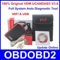 audi usb connection - Newest Original VDM UCANDAS V3 Full System Automotive Diagnostic Tool WIFI USB Connection Optional Support Online Update