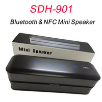best waterproof mobile - New SDH Best quality portable mini speaker bluetooth subwoofer wireless speaker outdoor FM TF with NFC function W DHL Free