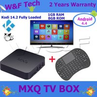 better mouse - MXQ TV Box Amlogic S805 With KODI Fully Loaded Rii I8 Air Mouse Wireless Keyboard Better Selling