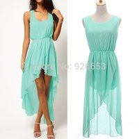 Cheap 2014 Summer Fashion Women Sleeveless Solid Boho Beach Dress Fit Ladies Vestidos maxi dresses M L XL