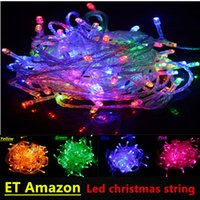 Wholesale 100LEDs M Wedding Party Christmas Led String Lights For Home Garden Outdoor Decoration AC V V Waterproof