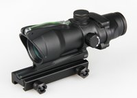 acog for sale - hot sale Trijicon ACOG Style x32 Green Red dot Scope With Green Red Fiber Tactical Real Fiber red dot sight Riflescope for hunting