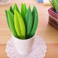 Wholesale 12 New Cute Grass Colorful Sweet Gel Pen Set Kawaii Korean Stationery office school supplies Gift