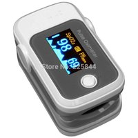 Wholesale LED Screen SPO2 PR Data Plethysmogram Fingertip Pulse Oximeter for family health