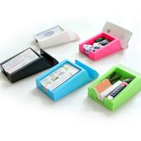 Wholesale Multi function Office Organizer Card phone Dual Purpose Storage Box Small Jewelry Box Desktop Finishing
