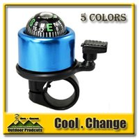 Wholesale New Arrival Brand New CoolChange Bicycle Bike Handlebar Bell Ring Horn High Quality with The Compass Color Choose