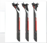Wholesale carbon Bicycle seat post For MTB Road Bike size mm Offest mm