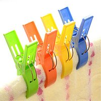 beach towel clips - Bright Colors PC Set Beach Towel Clothes Socks Clips Hangers Racks Good Quality