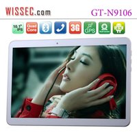 Wholesale New inch Quad core Tablet PC Bluetooth WIFI Dual SIM GB GB GB MP MP Android GPS G Tablet