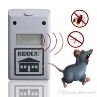 Wholesale 220v Enhanced electronics Ultrasonic insect repellent mosquito killer mouse repellent cockroaches and rodent control cm