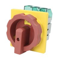 Wholesale GLD2 A AC V A Cut off Screw Terminals Rotary Combination Switch order lt no track