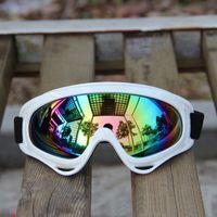 atv goggles blue - Motorcycle Bike ATV Motocross UVProtection Ski Snowboard Off road Goggles FITS OVER RX GLASSES Eyewear Lens