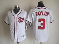 Wholesale Discount Washington Nationals baseball jerseys SCHERZER HARPER TAYLOR RENDON WERTH baseball jerseys top quality man size M XL