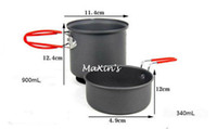 Wholesale High Performance Pot Bowl for Backpacking Camping Cooking Cookware Set New CW S08