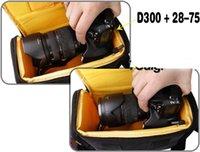 Wholesale 2013 New Arrival Hot SalesCamera Case Bag for DSLR NIKON D4 D800 D7000 D5100 D5000 D3200 D3100 D3000 D80