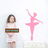 ballerina decor for girls room - Ballerina Wall Decal Large Girl Bedroom Wall Decor Wall Sticker Home Decoration cmX70cm
