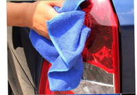 Wholesale High Quality Microfiber Towel Car Cleaning Wash Clean Cloth Car x30cm Towels Microfiber Care Care Hand Towel