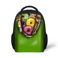 Backpacks baby rucksacks - New Chocolate Donut Designer Rucksack Bagpack for Boys and Girls Backpacks Mochila Masculina kid Bag for Baby School Bag for Kid
