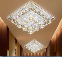 Wholesale Modern LED Ceiling lamp Cool White mm W Indoor light for Home Bedroom Lamp living room Lamps fixtures lampshade lighting