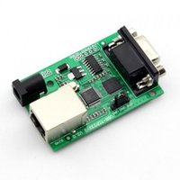 Wholesale Q00222 Piece USR TCP232 RS232 to Ethernet TCP IP Converter Module FreePost