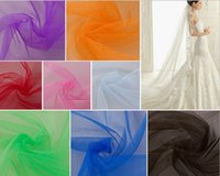 home decor fabric - 63 quot cm Width Meter Tulle Fine Mesh Tulle Fabric Gentle Soft Mesh Fabric for Wedding Dress Tutu Veil Home Decor