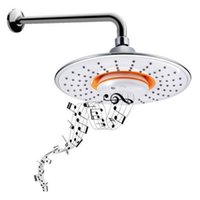 Wholesale Wireless Musical Showerhead Waterproof Speaker Bluetooth Shower Arm Brand New
