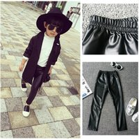 children tight pant - Baby Girls Imitation PU Leather Pants Children Clothing Solid Skinny Leggings Tights Kids Clothes Tights Trousers K5452