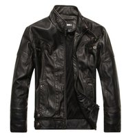 leather jacket - Fall New arrive brand motorcycle leather jackets men men s leather jacket jaqueta de couro masculina mens leather jackets
