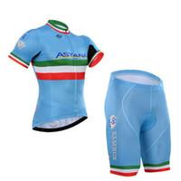 fee0fb469b8 2015 ASTANA PRO TEAM BLUE NIBALI ITALIA SHORT SLEEVE CYCLING JERSEY SUMMER CYCLING  WEAR ROPA CICLISMO+ SHORTS GEL PAD SET SIZE:XS-4XL ...