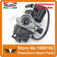 carburetor 2 stroke - Performance Two Stroke cc Dellorto Carburetor Fit ZONGSHEN PIAGGIO TYPHOON JOG50 Motorcycle Stroke cc Parts