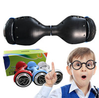 Wholesale Smart Balance Scooter Two Wheel Electric Scooters Unicycle Self Balancing inch Children Bear Hoverboard Skateboard Motor Fashion gift