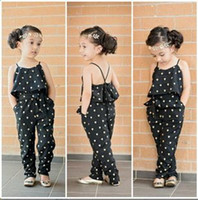 baby wearing sling - Girls Casual Sling Clothing Sets romper baby Lovely Heart Shaped jumpsuit cargo pants bodysuits kids wear children Outfit
