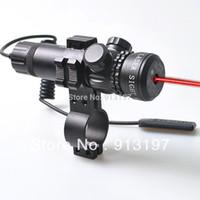 adjusting rifle sights - Tactical Rifle Red Laser Dot Sights Sites Rifle Scopes Outside Adjust mount
