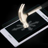 A prueba de explosiones premium de alta definición de pantalla de cristal templado protector delantero de película para Huawei Ascend P7