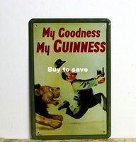 Wholesale My goodness My Cuinness poster Lion style Tin Signs Decor Home Club Bar x12 inch x30cm AN03
