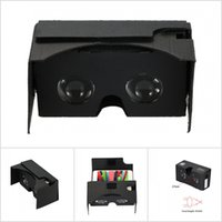 Wholesale DIY Google Cardboard V2 D Glasses D VR Virtual Reality Video Glasses for