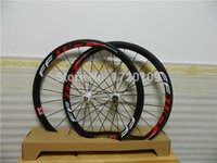 Wholesale Carbon wheelset mm clincher wheels full carbon bicycle wheelset glossy or matte finish cycling wheels road carbon clincher