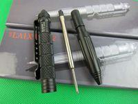 Wholesale New Arrivals Tungsten Steel Pen Point Self Defense tool Office Cool Writing Pen Metal Ballpoint Pen LAIX Brand Tactical Pen E