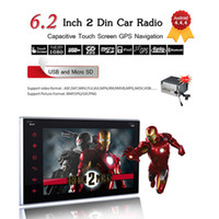 Wholesale 6 Din Android Touch Screen Car DVD Player GPS Navigation Radio Stereo Blutooth G WIFI for Hyundai