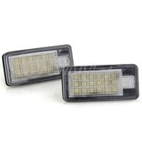 Wholesale 2 White LED SMD License Plate Lights Lamps Bulbs for AUDI A3 P A6 F