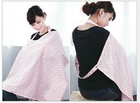 baby wrap breastfeeding - Cotton Blend Nursing Cover Women Udder Covers Breastfeeding Baby Blanket